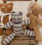 Cat, Rabbit, and Teddy Bear by Louisa Harding -Free