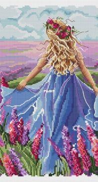 Paradise Stitch - Nymph by Olga Lankevich