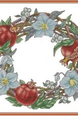 Pomgranate Wreath by Natalia Cherepanova XSD