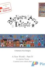 Creative Poppy - A New World Part 4 - a Visit to Town by Barbara Ana Designs