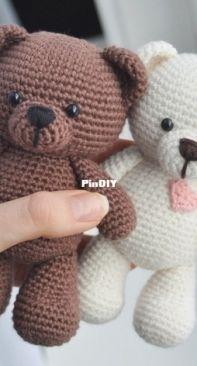 Em Sa Crochet - Emma Bergström - Frankie the Teddy Bear