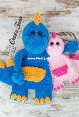 one and twocompany Dan the Dino Cuddler English