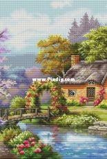 Lake House by Ksenia Adonyeva (Ксения Адоньева)