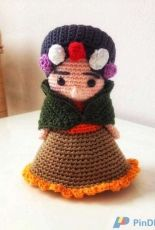 Amour Fou Crochet - Frida mini