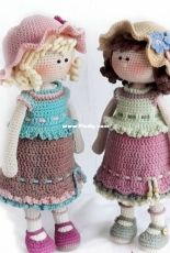 Knit a Miracle by Nelly - Nelly Shkuro - Dorothy the Lovely Girl - Russian - Translated - Free