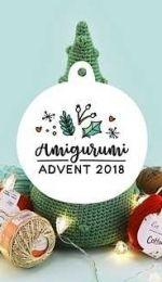 Ilaria Caliri and Irene Strange - Amigurumi Advent CAL 2018