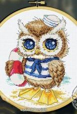 Soda SO-OP99 A Seaside Owl