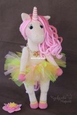 Kumutushka toys - Marina Chuchkalova  - A Sweet Unicorn - Russian
