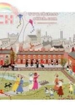 Bothy Threads TMC4 Miss Carter: Kite Flying In The Park Tapestry