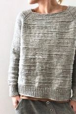 The Purl Code Sweater by Isabell Kraemer