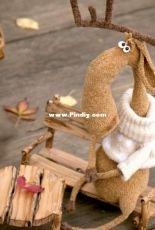 Little Owls Hut - Svetlana Pertseva - Ignassius the Moose