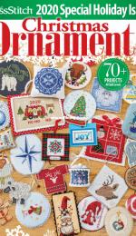 Just CrossStitch JCS Christmas Ornaments 2020