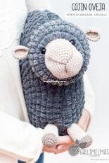 Gallimelmas e Imaginancias - Pillow Sheep - Spanish