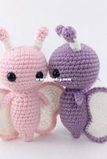 Affordable Cuteness - Theresas Crochet Shop - Theresa Grey - Crocheted Butterfly - Russian - Translated - Free