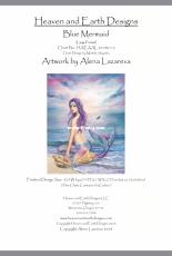 HAED HAEAAL 20180112 Blue Mermaid by Alena Lazareva (Large Format)
