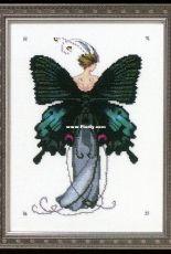 Mirabilia / Nora Corbett NC243 Butterfly Misses - Miss Black Swallowtail
