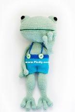 Crochet Ole - Lauren Whitney - Philip the frog - Russian - Translated - Free