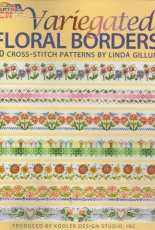 Leisure Arts 4617 - Variegated Floral Borders by Linda Gillum
