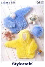 Stylecraft 4832 Eskimo DK Baby Jackets