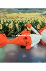 Amigurumi Doll - Lily the Goldfish