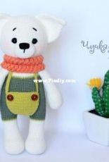 My Crochet Wonders - Marina Chuchkalova - Cutie the Puppy - Russian