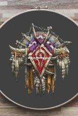 World of Warcraft - Crest / Banner of the Horde -  Viktoriya Dzhukayeva