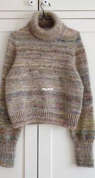 Terrazzo sweater - petiteknit english