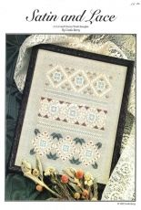 Satin and Lace - A Cut and Drawn Work Sampler by Linda Barry