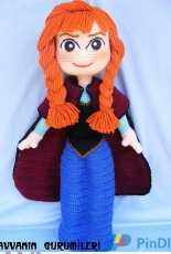AmigurumiTR Design Team - Havva - Anna from Frozen