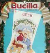 Bucilla #82829 O Holy Night Stocking