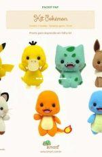 TIMART - Packet Pap - Pokemon - Felt - Portugese