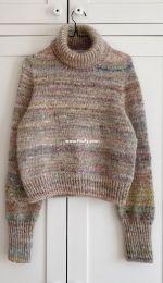 Terrazzo Sweater by PetiteKnit
