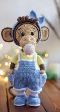 Verma Toys - Maria Verova - Molly Monkey
