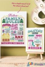 Festive Christmas Rules by Emma Congdon from Cross Stitch Crazy 222  XSD + PCS