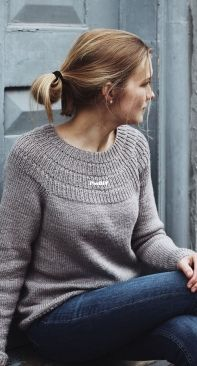 Anker's Sweater - My size by PetiteKnit -  English