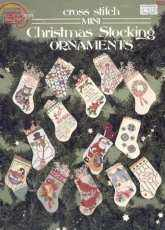 American School of Needlework ASN 3530 - Mini Christmas Stocking Ornaments