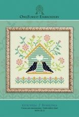 OwlForest Embroidery 0078-SK-E - Starlings - Free