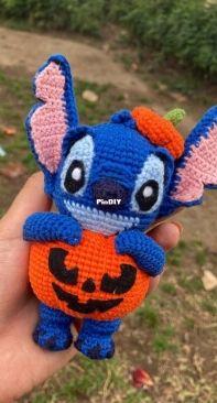 Sienna Handmade - Stitch in pumpkin