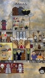 Addams Family: Stitch A Long (SAL) - JustStitchDesigns