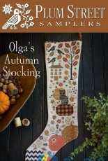 Plum Street Samplers - Olga's Autumn Stoking