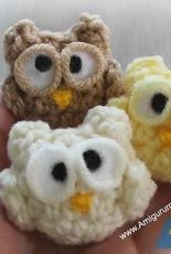 Amigurumi To Go-  Sharon Ojala- Nugget the Lil' Owl- Free