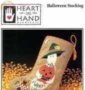 Heart in Hand HIH - Halloween Stocking