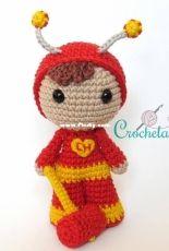 Crochelandia - Rose Nogueira - Chapulin Colorado - Portuguese - Free