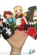 Handmadeawards - Loly Fuertes - Hansel and Gretel Finger Puppets