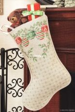 Vintage Ornament Stocking from A Cross-Stitch Christmas - Holiday Celebrations 2012
