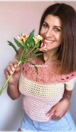 Atrapa Sueños Crochet - Lorena - Top EnamorArte - Spanish