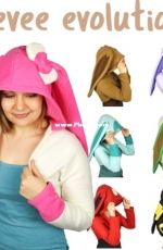 Choly Knight - Sew Desu Ne? - Eevee Evolution Hooded Shrug - Free