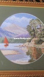 Heritage Crafts, John Clayton, Circles, Calm Waters - JCCW595