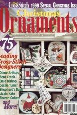 Just Cross Stitch JCS Christmas Ornaments 1999