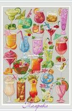 Sampler Cocktails by Tamriko Lamaridze